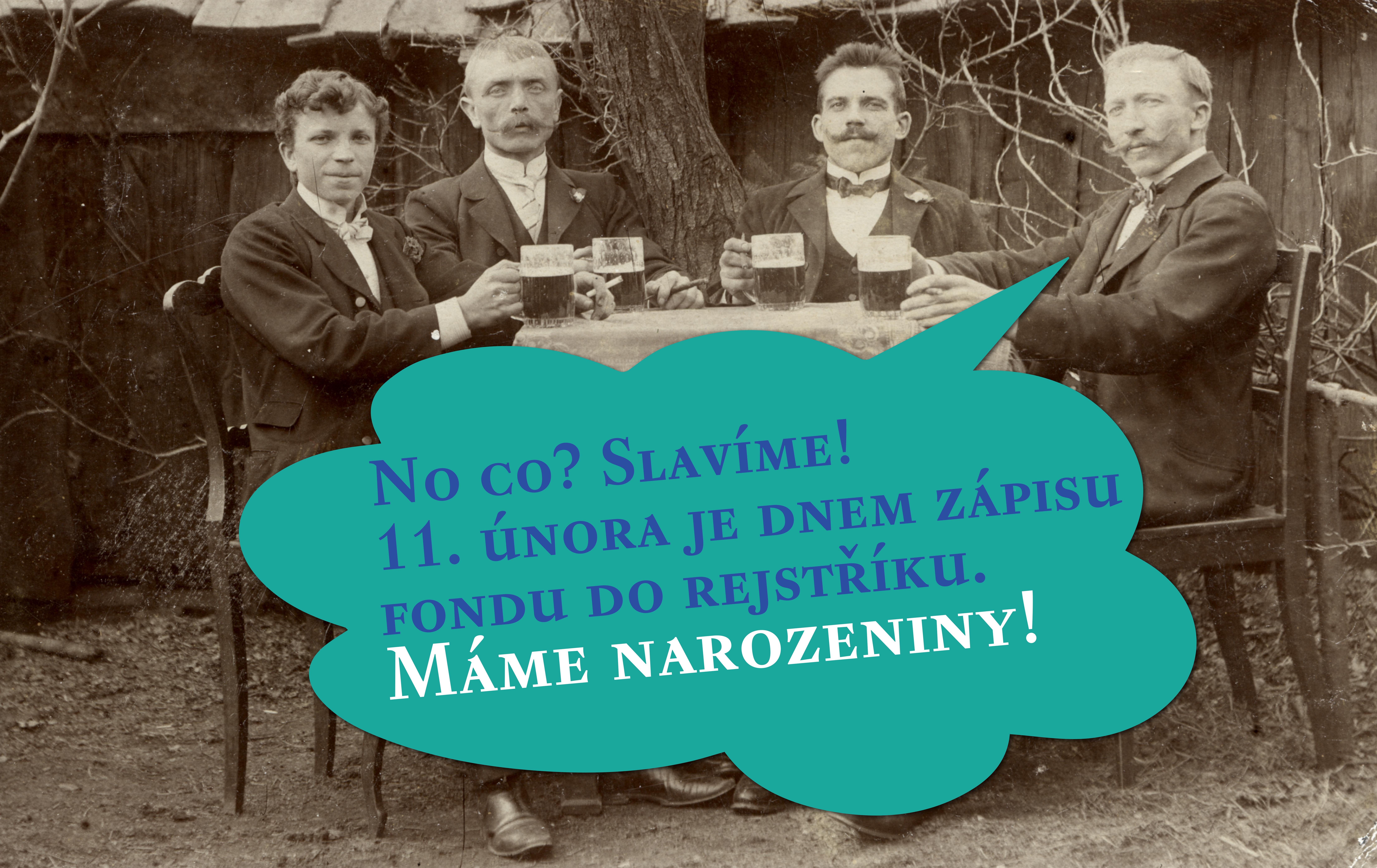 Slavíme první narozeniny Nadačního fondu Pramen Luhačovice!
